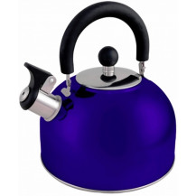 Oztrail 2.5L Whistling Kettle - Blue