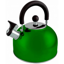 Oztrail 2.5L Whistling Kettle - Green