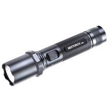 Nextorch P60 Rechargeable Flashlight - 1000 Lumens, Black