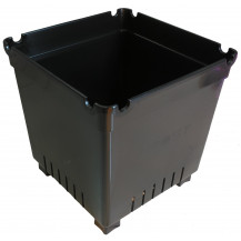 Boost Square Pot - 25L, Black