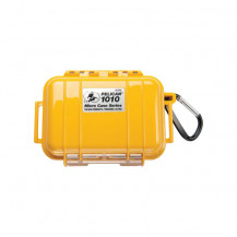Pelican 1010 Micro Case with Liner - Solid Yellow