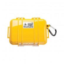 Pelican 1020 Micro Case with Liner - Solid Yellow