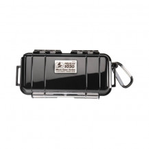 Pelican 1030 Micro Case with Liner - Solid Black