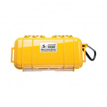 Pelican 1030 Micro Case with Liner - Solid Yellow