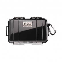 Pelican 1040 Micro Case with Liner - Solid Black
