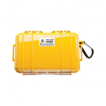 Pelican 1040 Micro Case with Liner - Solid Yellow