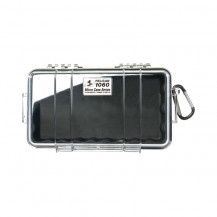 Pelican 1060 Micro Case with Liner - Black/Clear