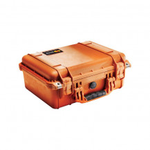 Pelican 1450 Medium Case - Orange Inside View