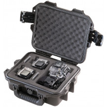 Pelican Storm iM2050GP2 Case with Custom Foam for 2 GoPro - Black