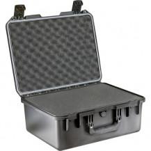 Pelican Storm iM2450 Case with Cubed Foam - Black Open