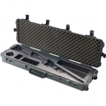 Pelican Storm iM3300RFL Long Case with Rifle Insert - Black