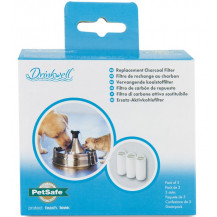 Petsafe Drinkwell Stainless Steel Fountain Charcoal Filter - 3 Pack