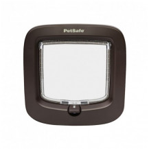 Petsafe Manual-Locking Cat Flap - Brown