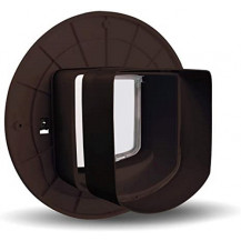 Petsafe Microchip Cat Flap Tunnel Extension - Brown