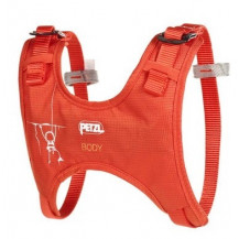 Petzl Body Kids Harness - Coral