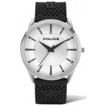 Police Patriot Watch - Gents, 3 Hands, Black/Silver