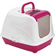 McMac Flip Cat Litter Box - Hot Pink