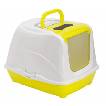 McMac Flip Cat Litter Box - Lemon Yellow