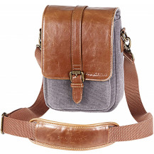 Praktica Heritage Binocular Shoulder Case Bag - Grey