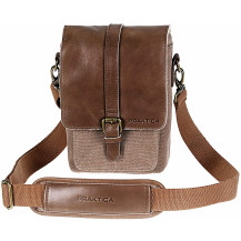 Praktica Heritage Binocular Shoulder Case Bag - Leather