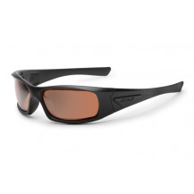 ESS 5B High Impact Sunglasses (Black Frame Mirrored Copper Lenses)