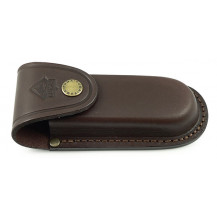 Puma Leather Knife Pouch - Brown