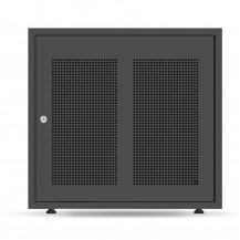Pylon US2000B X 5 Cabinet - w/Support Rails, Black