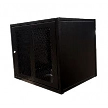 PylonTech US2000B x 4 Cabinet - w/Support Rails, Black