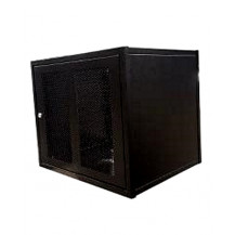 PylonTech US3000B x 4 Cabinet - w/Support Rails, Black