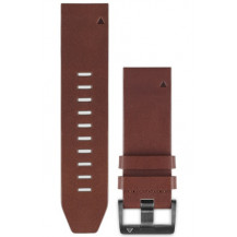 Garmin QuickFit Leather Band - Brown, 22mm