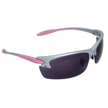 Radians Woman's Shooting Glasses - Pink Frame, Smoke Lens