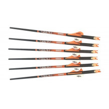 Ravin Xbow Carbon .003 Crossbow Arrows - 400 Gr., 6 Pack