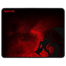 Redragon Pisces Gaming Mouse Pad - Black/Red