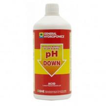 General Hydroponics pH Down 0.5L