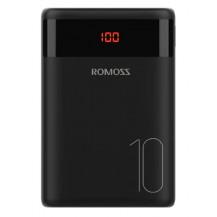 Romoss Ares 10 USB Power Bank - 10000mAh, Black