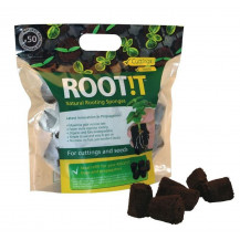 Rootit Natural Rooting Sponges Refill Bag - 50 Pieces