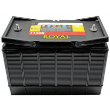 Royal Semi-Sealed Battery - 105Ah
