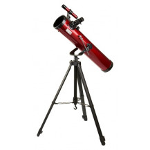 Carson Red Planet 35-78x76mm Reflector Telescope with Smartphone Adapter Bundle - Red/Black
