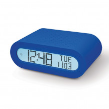 Oregon Scientific Classic Alarm Clock with FM Radio - Blue