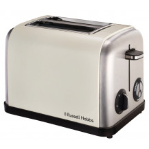 Russell Hobbs 18260SA Legacy Toaster - 2 Slice, Cream - Front View