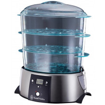 Russell Hobbs 3 Tier Satin Quartz Food Steamer
