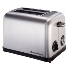Russell Hobbs 13975 Toaster - 2 Slice, Stainless Steel - Front View