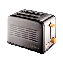 Russell Hobbs RHTAB2S-8 Toaster - 2 Slice, Rustic - Front View