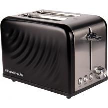 Russell Hobbs Swirl Toaster - 2 Slice, Black