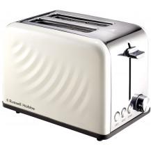 Russell Hobbs Swirl Toaster - 2 Slice, Cream