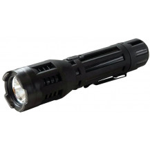 Sabre Stun Gun with LED Flashlight - 120 Lumens, Black