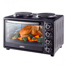 Salton Mini Kitchen Oven/Hotplates - 30 Litre - SFMK02