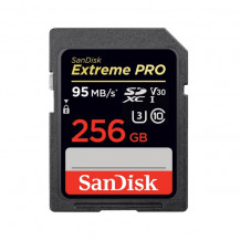 SanDisk Extreme Pro SD UHS-I Card - 256GB