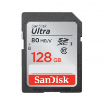 SanDisk Ultra SDHC/SDXC Memory Card - 128GB