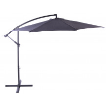 Seagull Cantilever Umbrella 3m - Light Grey - Inner Poles